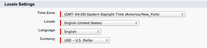 Managing Time Zones, Language and Currency – Propertybase