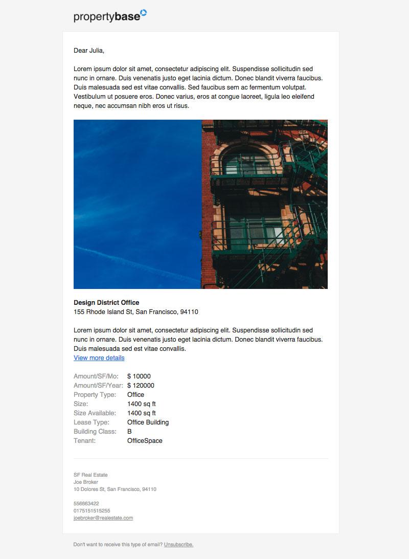 New Propertybase Example Templates – Propertybase Help Center